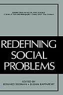 Book Redefining Social Problems by Edward Seidman