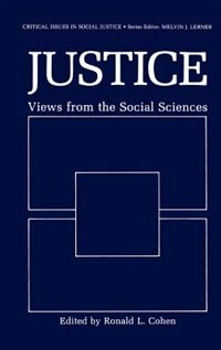 Book Justice: Views from the Social Sciences by Ronald L. Cohen