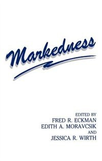 Book Markedness by ECKMAN
