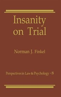 Book Insanity on Trial by Norman Finkel