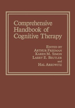 Book Comprehensive Handbook of Cognitive Therapy by Hal Arkowitz