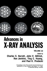 Book Advances in X-Ray Analysis: Volume 32 by Charles S. Barrett