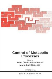Book Control of Metabolic Processes by Athel Cornish-Bowden
