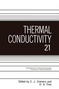 Book Thermal Conductivity by C.J. Cremers
