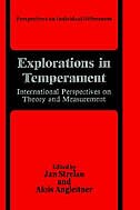 Book Explorations in Temperament: International Perspectives on Theory and Measurement by Jan Strelau
