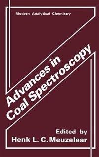 Book Advances in Coal Spectroscopy by Henk L. C. Meuzelaar