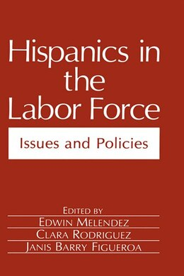 Book Hispanics in the Labor Force: Issues and Policies by Edwin Melendez