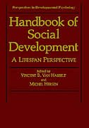 Book Handbook Of Social Development: A Lifespan Perspective by Vincent B. Van Hasselt