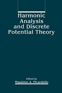 Book Harmonic Analysis and Discrete Potential Theory by M.A. Picardello
