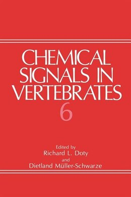 Book Chemical Signals in Vertebrates 6 by R.L. Doty