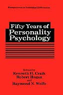 Book Fifty Years of Personality Psychology by Kenneth H. Craik