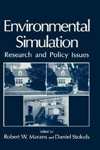 Book Environmental Simulation: Research and Policy Issues by R.W. Marans