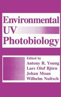 Book Environmental UV Photobiology by Lars Olof Björn