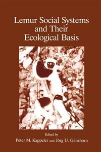 Book Lemur Social Systems And Their Ecological Basis by J. Ganzhorn
