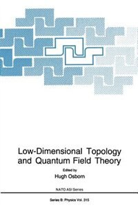 Book Low-Dimensional Topology and Quantum Field Theory by Hugh Osborn