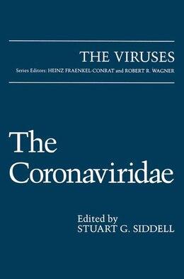 Book The Coronaviridae by Stuart G. Siddell