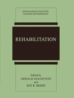 Book Rehabilitation by Gerald Goldstein