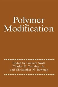 Book Polymer Modification by Graham G. Swift