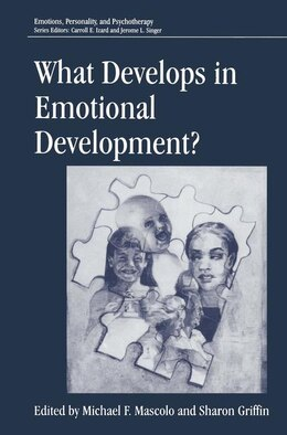 Book What Develops in Emotional Development? by Michael F. Mascolo