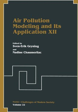 Book Air Pollution Modeling and Its Application XII by Sven-Erik Gryning