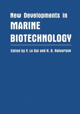 Book New Developments in Marine Biotechnology by Y. Le Gal