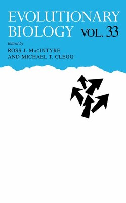 Book Evolutionary Biology by Ross J. MacIntyre