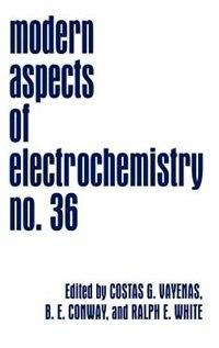 Book Modern Aspects of Electrochemistry by Costas G. Vayenas