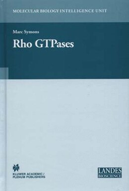 Book Rho Gtpases by Marc H. Symons