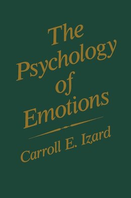 Book The Psychology of Emotions by Carroll E. Izard