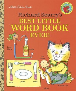 Book Richard Scarry's Best Little Word Book Ever by Richard Scarry