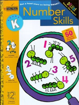 Book Number Skills (kindergarten) by Golden Books