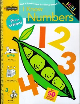 Book I Know Numbers (preschool) by Golden Books
