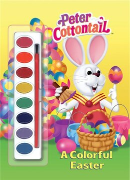 Book A Colorful Easter (peter Cottontail) by Golden Books