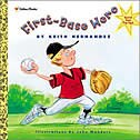 Book First-base Hero by Keith Golden Books