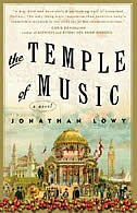 Book The Temple Of Music: A Novel by Jonathan Lowy