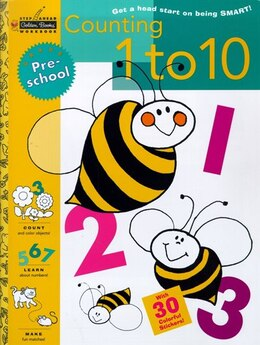 Book Counting 1 To 10 (preschool) by Golden Books