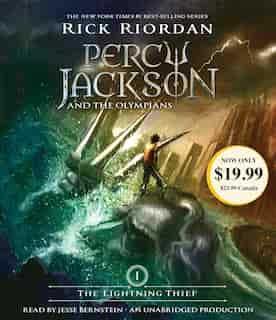 The Lightning Thief: Percy Jackson And The Olympians: Book 1 by Rick Riordan