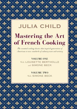 Book Mastering Art French Cooking 2 Vol by Julia Child