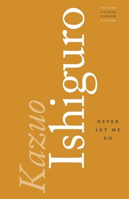 Book Never Let Me Go by Kazuo Ishiguro