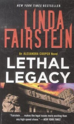Book Lethal Legacy by Linda Fairstein