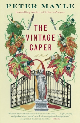 Book The Vintage Caper by Peter Mayle