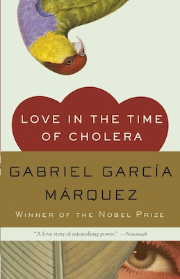 Book Love In The Time Of Cholera by Gabriel García Márquez