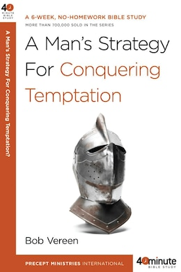 Book A Man's Strategy For Conquering Temptation by Bob Vereen