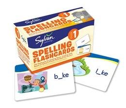 Book 1st Grade Spelling Flashcards: 240 Flashcards For Building Better Spelling Skills Based On Sylvan's… by Sylvan Learning