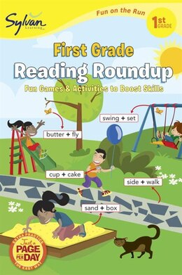 Book First Grade Reading Roundup (sylvan Fun On The Run Series) by Sylvan Learning