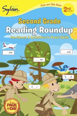 Book Second Grade Reading Roundup (sylvan Fun On The Run Series) by Sylvan Learning
