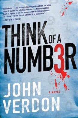 Book Think Of A Number (dave Gurney, No.1): A Novel by John Verdon