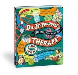 Book Do It Yourself Therapy: Head Games For A Rainy Day by Potter Style