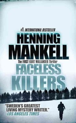 Book Faceless Killers by Henning Mankell