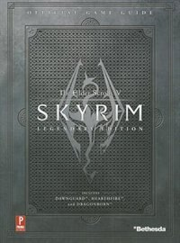 Book Elder Scrolls V: Skyrim Legendary Standard Edition: Prima Official Game Guide by David Hodgson